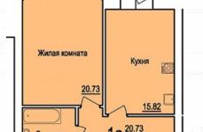 1 комнатная в Центре